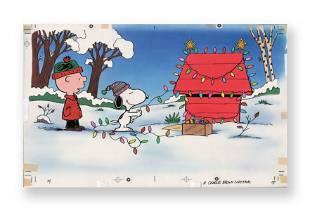 A Charlie Brown Christmas Original Golden Book Art
