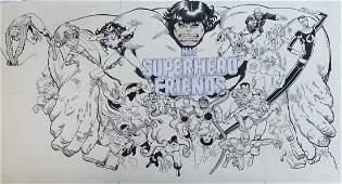 Marvel Presentation Board Hulk & His Superhero Friends