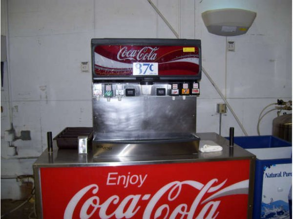 11: 1-6 Head Coke Dispenser with stand