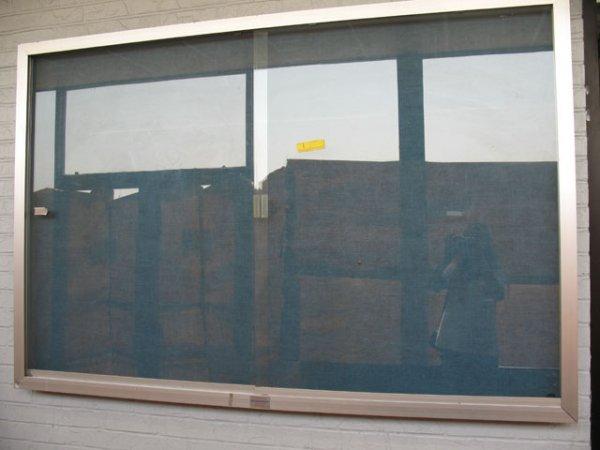 1A: 1X Glass bulletin board