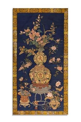 Qing Dynasty Bogutu Kesi Hang screen