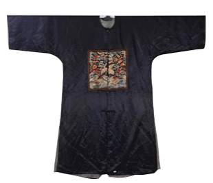 Late Qing Dynasty Civil servant First Rank 'Crane'