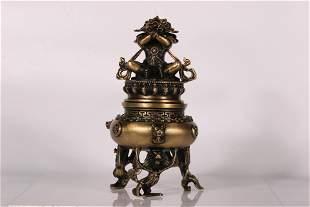 Dorje Chang Incense Burner