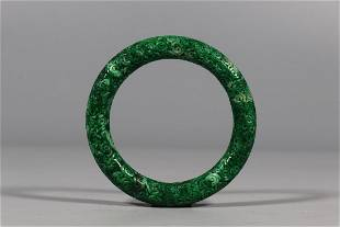 Qing Dynasty - Jadeite Bangle