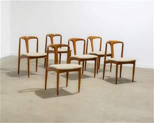 Johannes Andersen - Teak Dining Chairs