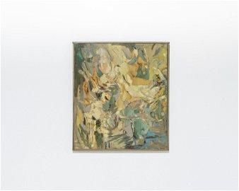 Yona Beattie - Abstract Oil on Canvas