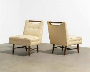Harvey Probber Style - Slipper Chairs