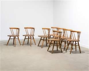 George Nakashima Style Dining Chairs