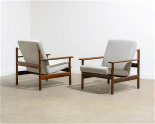 Sven Ivar Dysthe - Rosewood Lounge Chairs