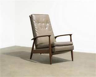 Milo Baughman - Reclining Lounge Chair