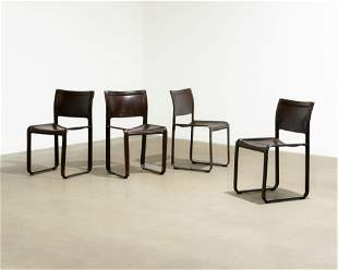Roche Bobois - Leather Dining Chairs