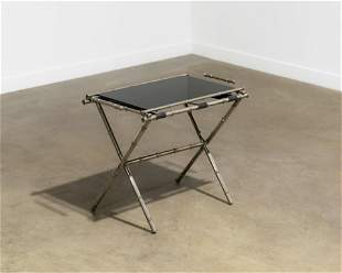 Jacques Adnet Style Tray Table