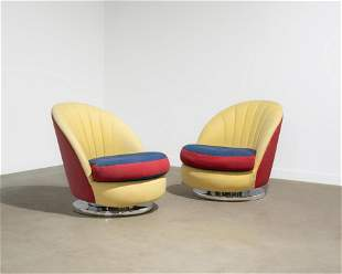 Milo Baughman - Tilt & Swivel Lounge Chairs
