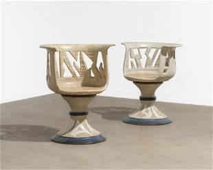 Joel Cottet - Ceramic Chairs