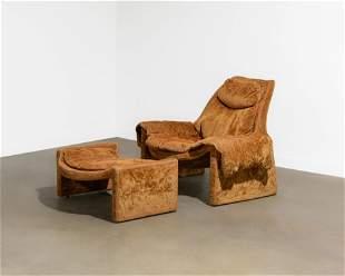 Vittorio Introini - P60 Chair & Ottoman
