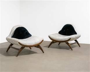 Adrian Pearsall (Attr.) - Gondola Lounge Chairs