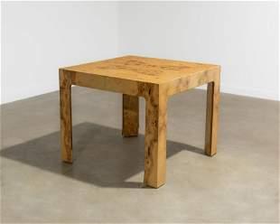 Milo Baughman - Burl Table