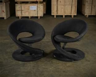 Jaymar Corkscrew Chairs