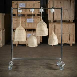 Ikea Wicker Pendant Lights