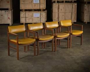 Ebena Lasalle Walnut Chairs