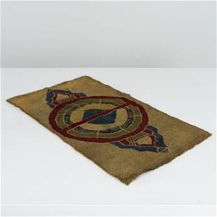 Geometric Hand Woven Mat