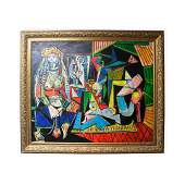 Fine Painting Oil on Canvas Signed Pablo Picasso