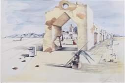 20th Century Salvador Dali Lithograph Pencil Signed