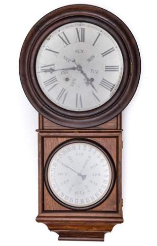 Early 20th Century Antique Welch Roosewood Clock