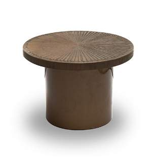 Adrian Pearsall? Hand Sculpted Brutalist Round Table
