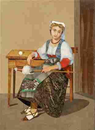 19th Century Italian Pietra Dura Plaque