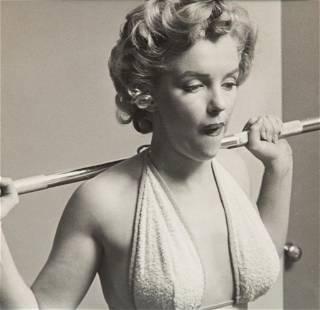 Philippe Halsman original vintage rare photo of Marilyn