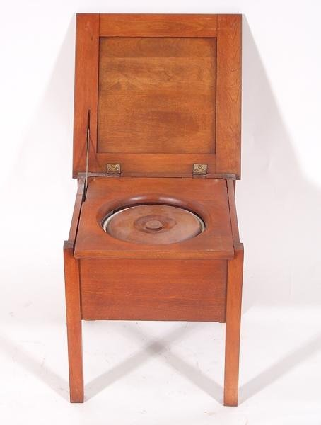 2: Wooden potty chair