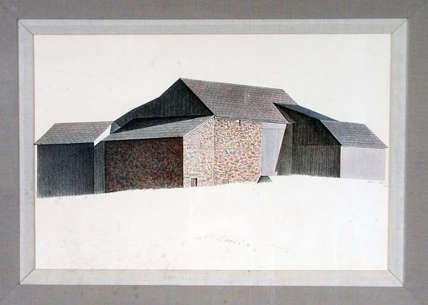 5: Charles Sheeler Signed Print
