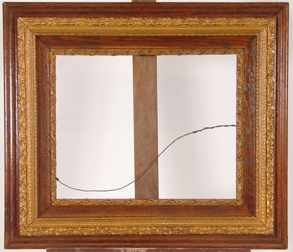 19: Ornate oak frame