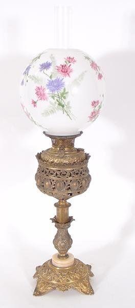 227: Bradley & Hubbard Victorian Banquet Lamp