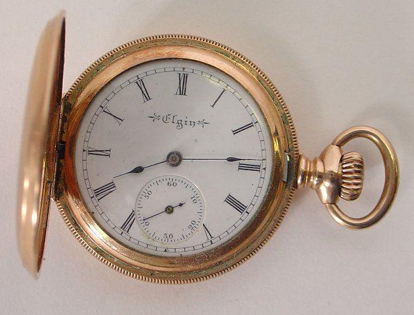 272: Ladies Elgin Gold Pocket Watch