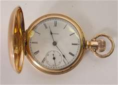 274 Ladies Illinois 14K gold Pocket Watch