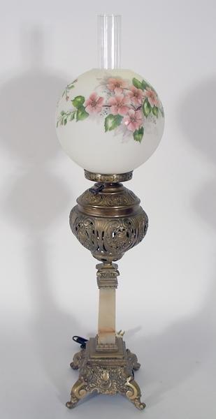 277: Candle-stick Parlor banquet Electric Lamp