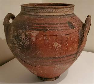 Ancient Cypriot Terracotta Jar