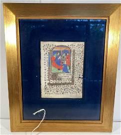Medieval Miniature of the Magi