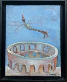NATASHA TUROVSKY, The Colloseum, oil on canvas