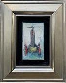 NATASHA TUROVSKY, Fine Art of Navigation, oil on canvas