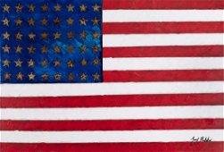JOZEF BATKO, American Flag, Steel Stars