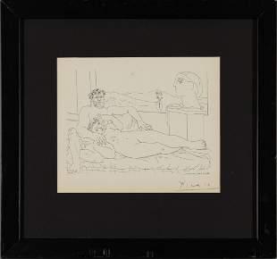 PABLO PICASSO, Minotaur , signed by artist