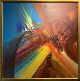 RODOLFO VIOLA, Symbiosis Della Natura, oil on canvas