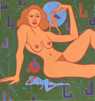 VICKI CHELF oil on canvas