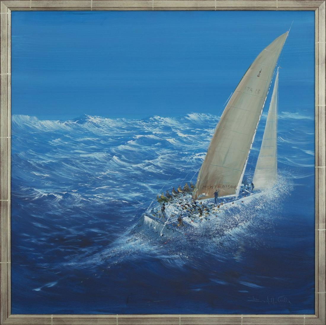 RODOLFO VIOLA Il Moro Di Venezia oil on canvas