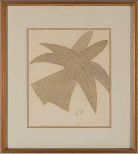 GEORGES BRAQUE Birds II, lithograph on paper