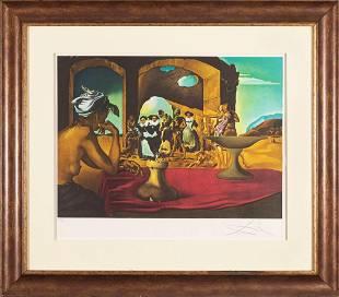 SALVADOR DALI,Slave Market, Cene Sita, lithograph