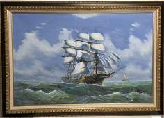 Original large Oil Painting